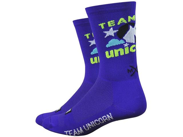 "DeFeet Aireator 6"" Sokken, team unicorn/purple"